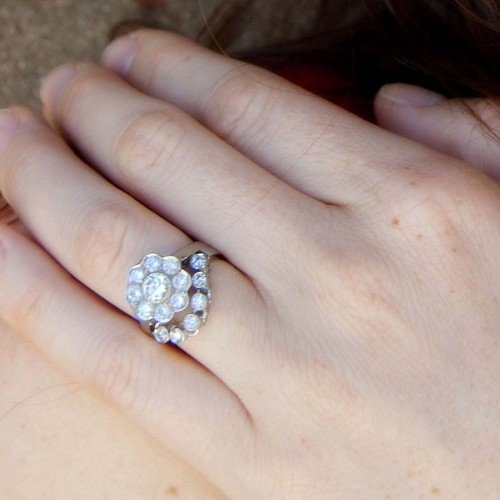 Gennie Custom Diamond Wedding Ring to Match Engagement Ring