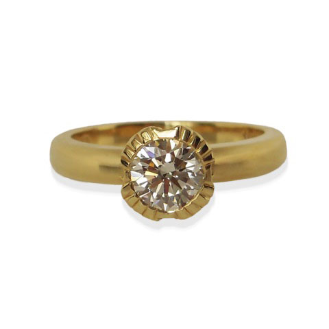 Sharon Angel Custom Engagement Ring