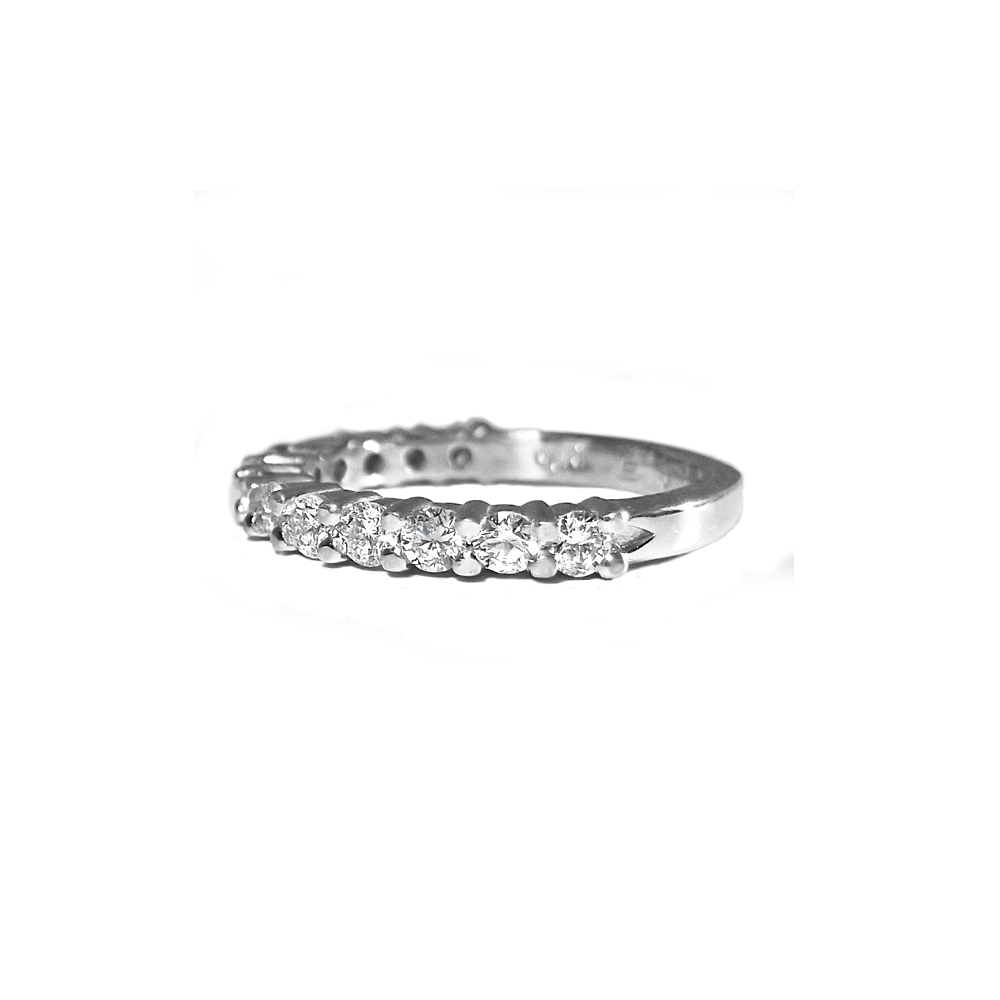 Elise Diamond Wedding Ring by Cynthia Britt