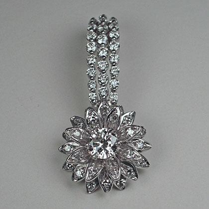 Transforming a Heirloom Ring into a Diamond Pendant