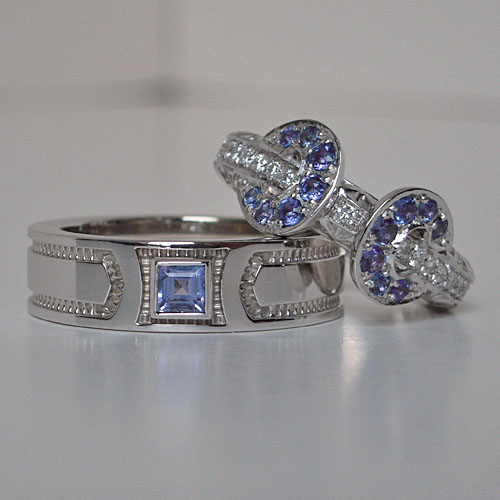Custom Made Matching Wedding Bands