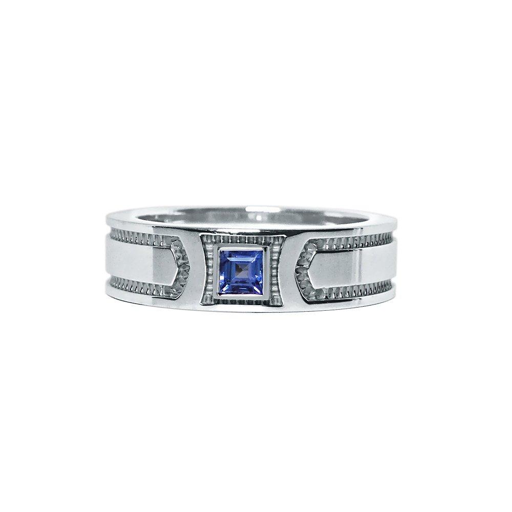 Custom Made Men's Wedding Ring