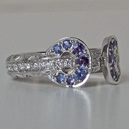 Jennifer Custom Made Wedding Ring