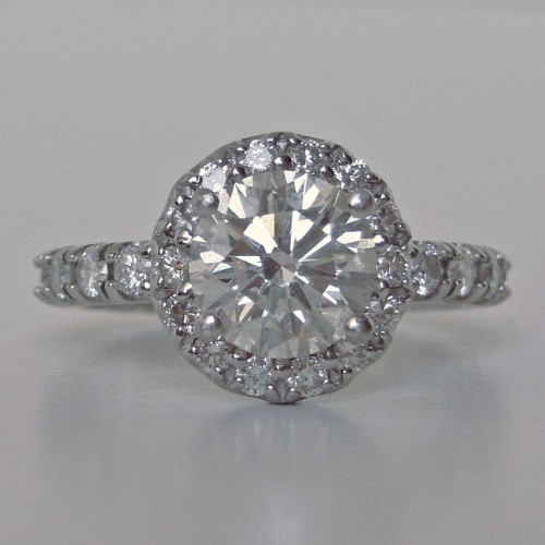 Weilyn diamonds engagement ring