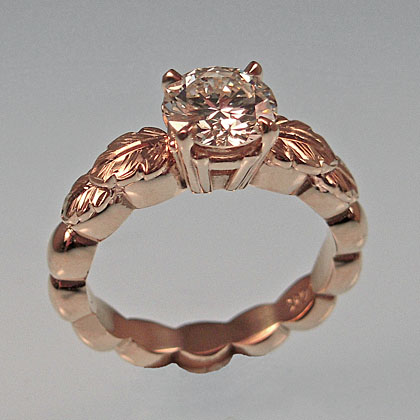 Emma Engagement Ring by Cynthia Britt