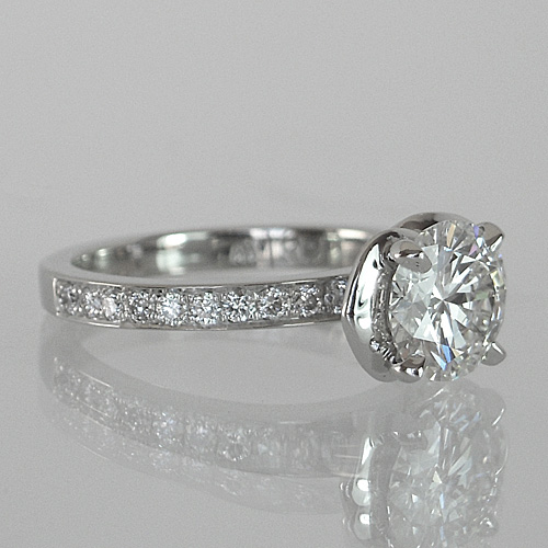Making of the Flower Shaped Unique  Engagement Ring
