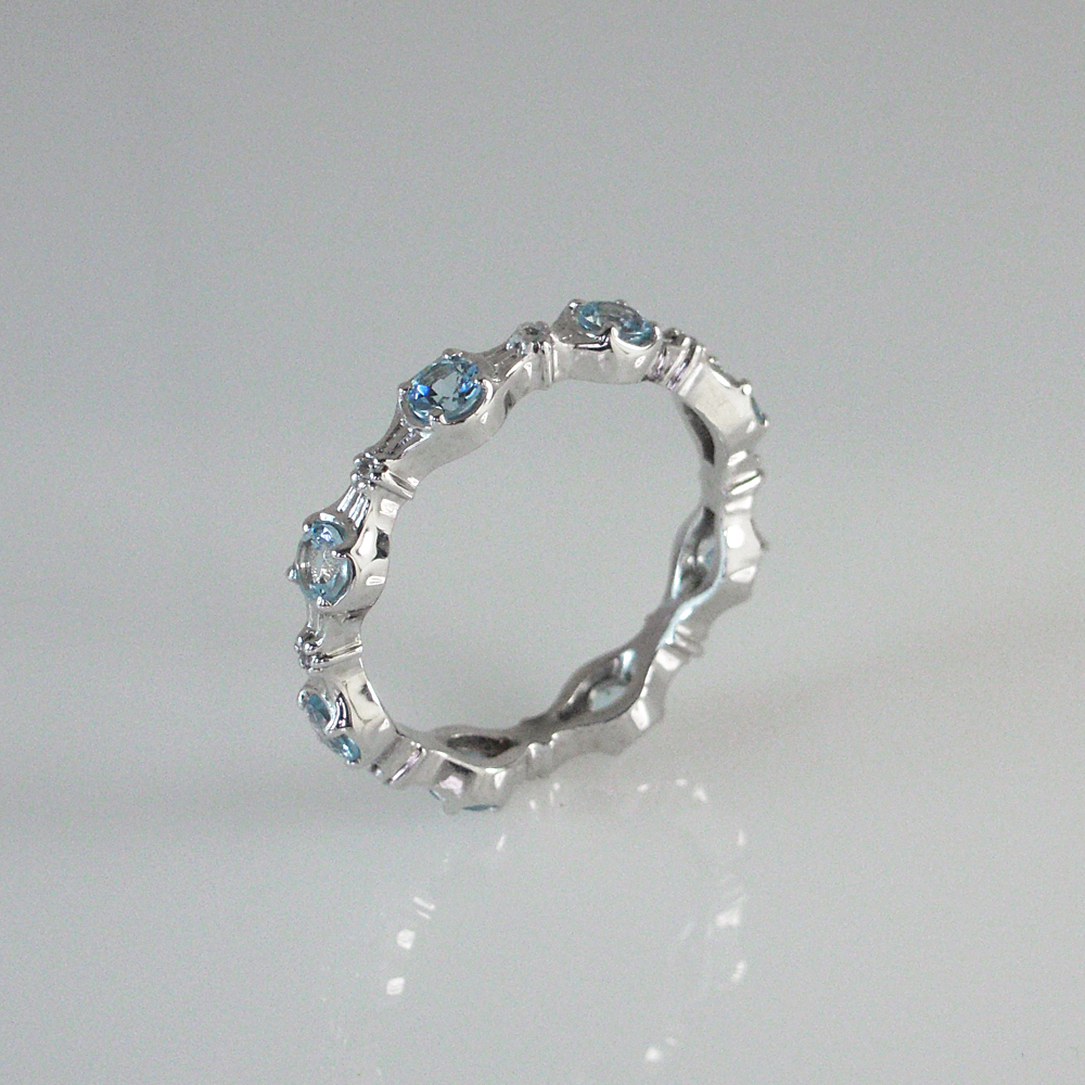 Disney Inspired Custom Made Wedding Band for a Modern Day Princess