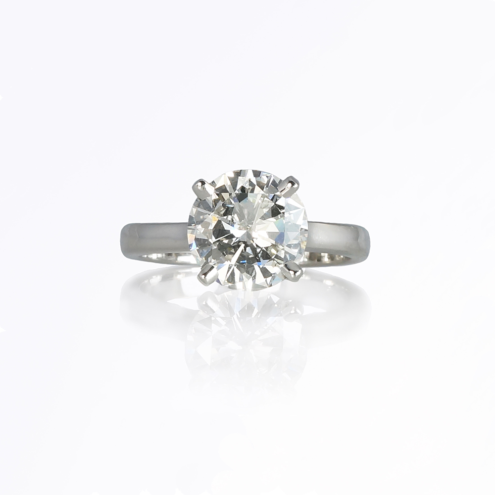 Custom Making of Kim Solitaire Diamond Engagement Ring