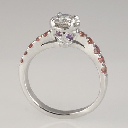 Madeligne Engagement Ring by Cynthia Britt