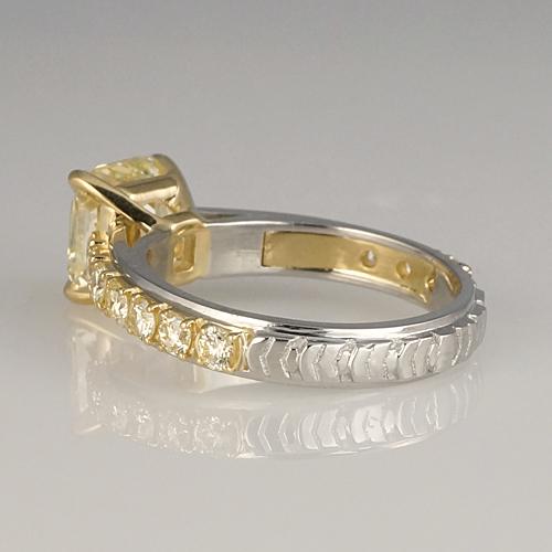 Linda Engagement Ring Bottom Details