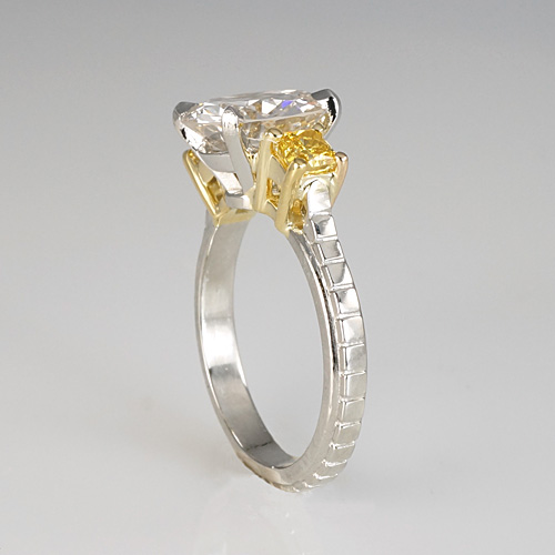 Transforming an Old European Cut Diamond Heriloom Ring to an Engagement Ring
