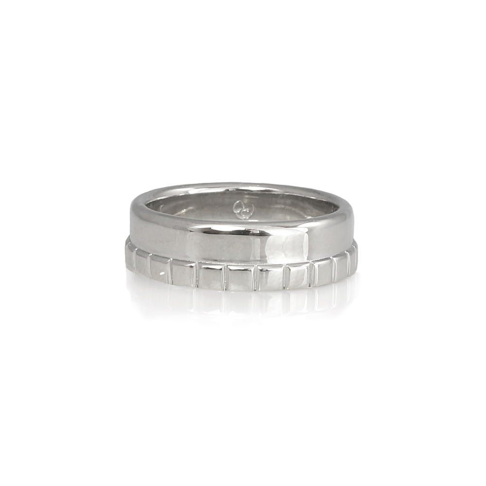 Adarsh Mens Platinum Wedding Band Custom Made