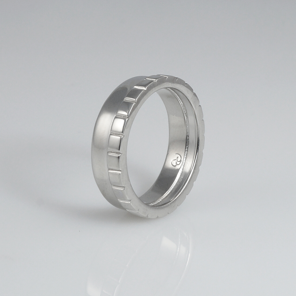 Adarsh Men's Platinum Wedding Band