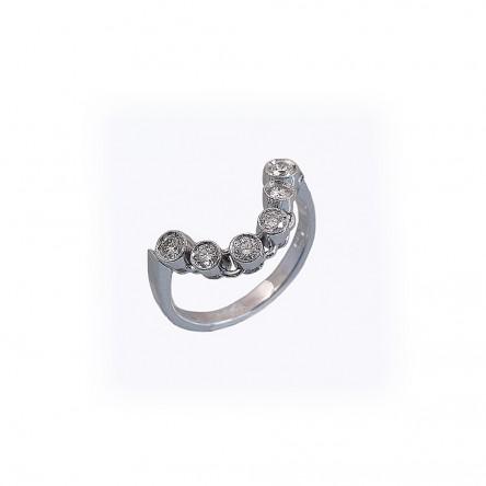 Gennie Diamond Wedding Ring by Cynthia Britt