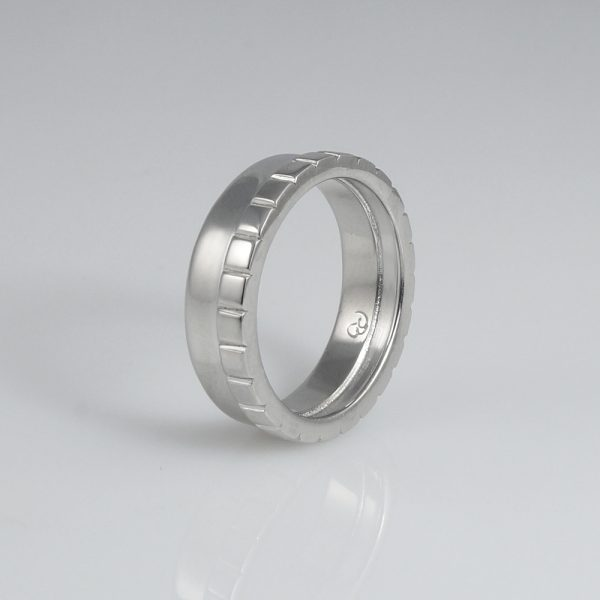 Adarsh Wedding Band Custom Made Sideview