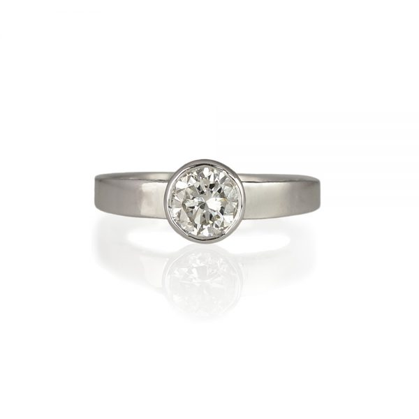 Barbara Bezel Set Diamond Anniversary Ring
