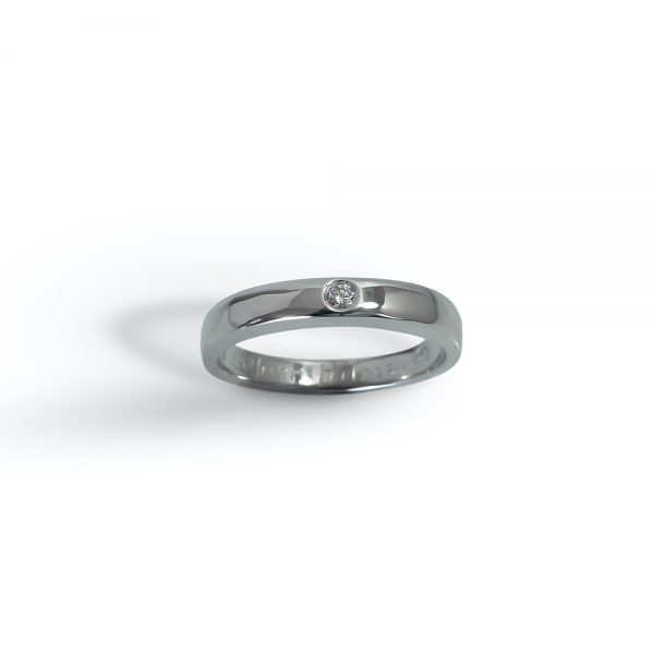 Birna Custom Diamond Wedding Band