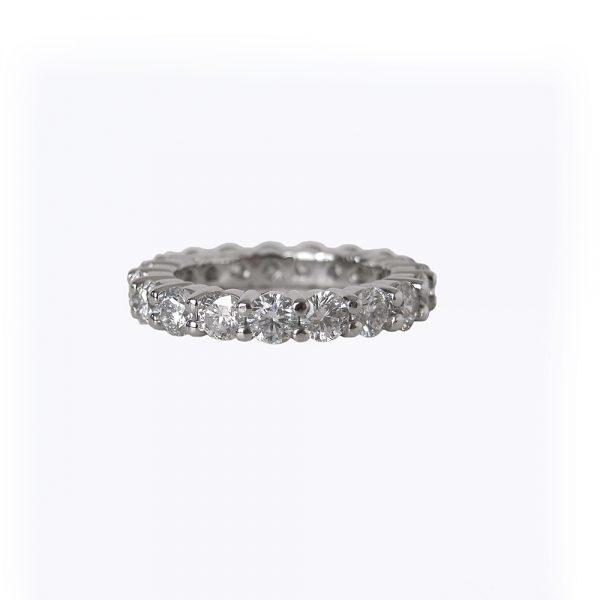 Britt Custom Diamond Eternity Wedding Band