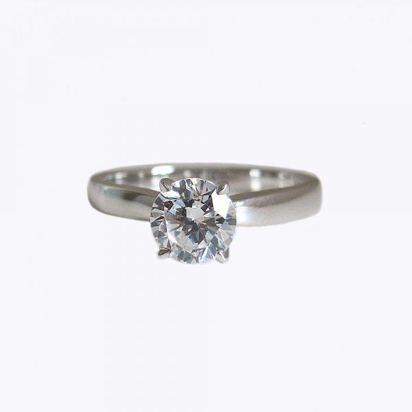 Britt Solitaire Custom Engagement Ring