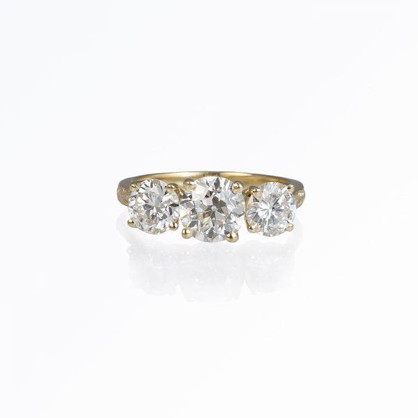 Caroline Engagement Ring Customized by Cynthia Britt