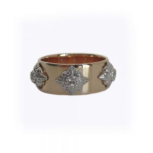 Courina Wedding Ring by Cynthia Britt