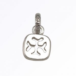 Custom Made Feature Lucky Charm in Sterling Silver