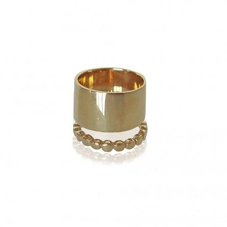 Cynthia Britt Bronze Cuff Ring