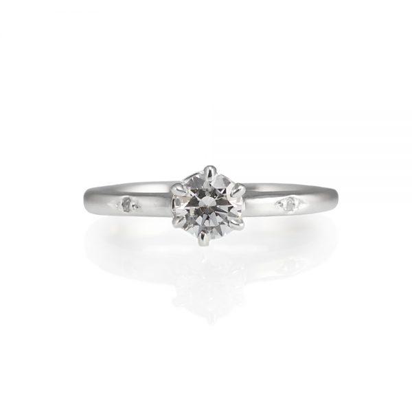Cynthia Britt Solitaire Diamond Engagement Ring-0