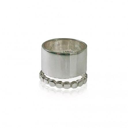 Cynthia Britt Sterling Silver Cuff Ring