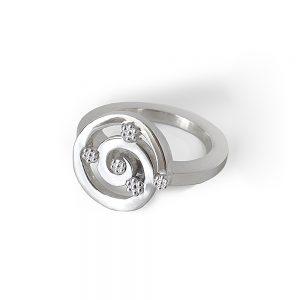 Cynthia Britt Sunshine Ring in Sterling Silver