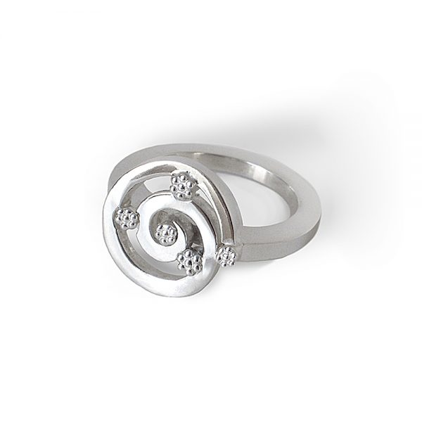Cynthia Britt Sunshine Ring in Sterling Silver