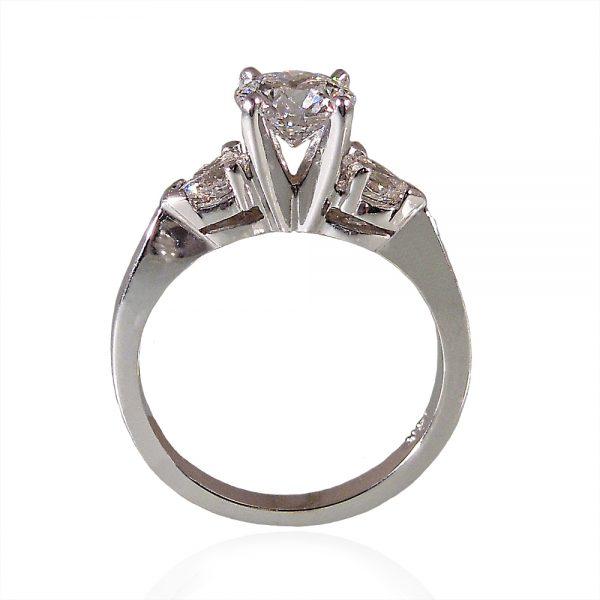 Dana Engagement Ring by Cynthia Britt Side View