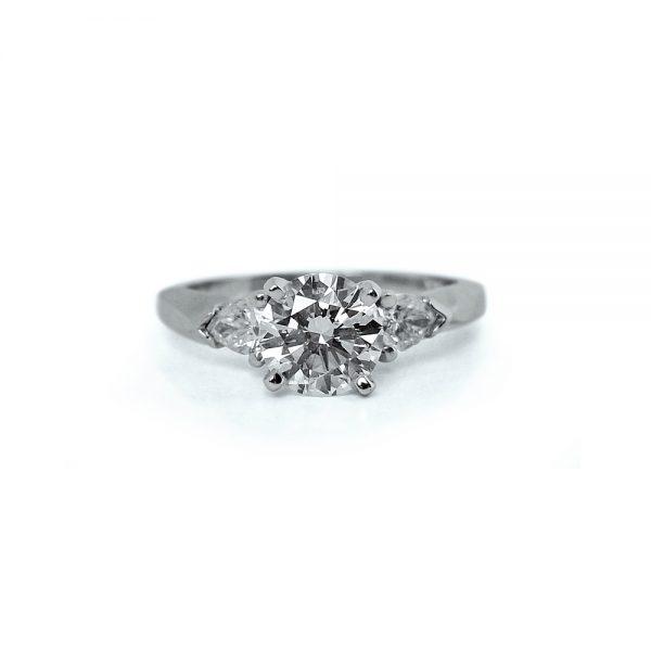 Dana Engagement Ring from Cynthia Britt Custom Jewelry