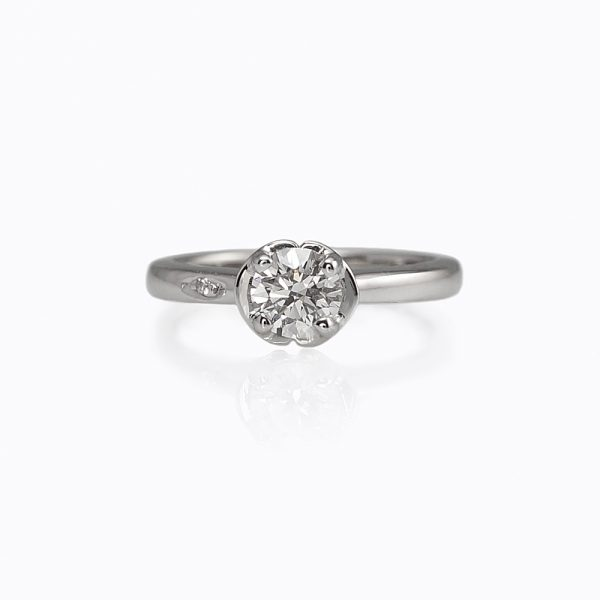 Ella Solitaire Engagement Ring by Cynthia Britt -0