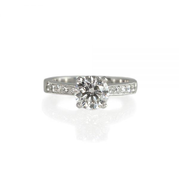 Kate Diamond Band Engagement Ring
