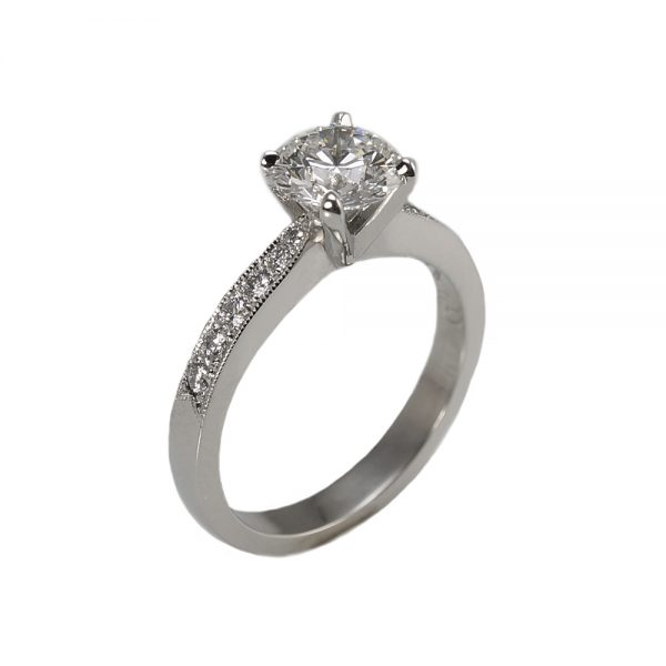 Kate Diamond Band Engagement Ring