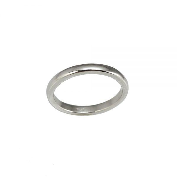 Kim Platinum Wedding Ring