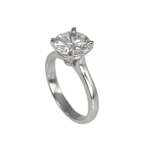 Kim Solitaire Diamond Engagement Ring-1436