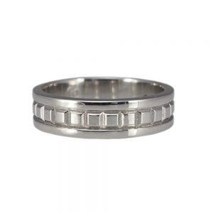 Matt Wedding Ring by Cynthia Britt-0