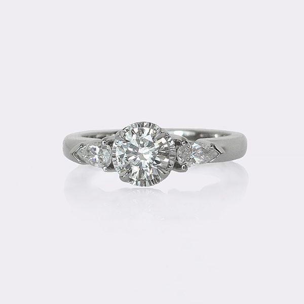 Sara Engagement Ring Custom Made at Cynthia Britt Jewellery