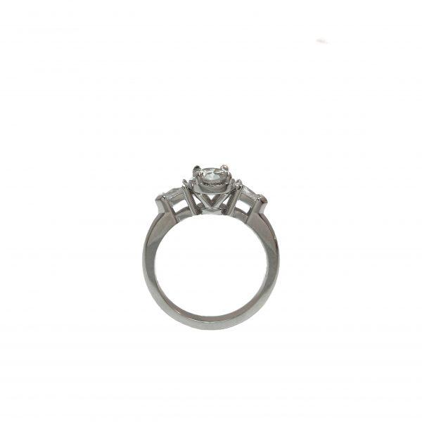 Sarah Engagement Ring by Cynthia Britt Side View