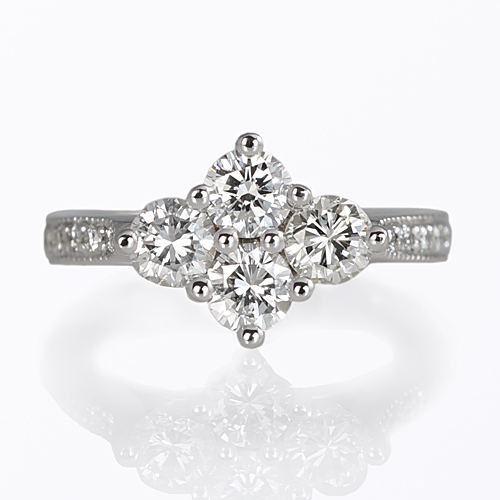 Four-Stone Diamond Ring