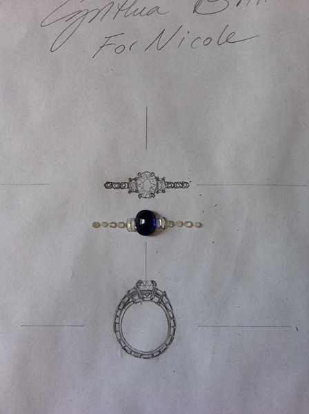 Nicole Engagement Ring Design