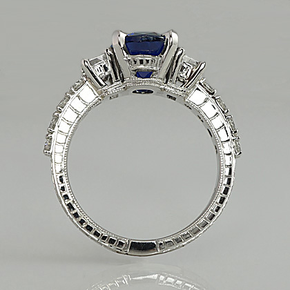 Nicole's Engagement Ring Side View