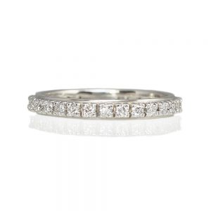 Alison Diamond Eternity wedding ring