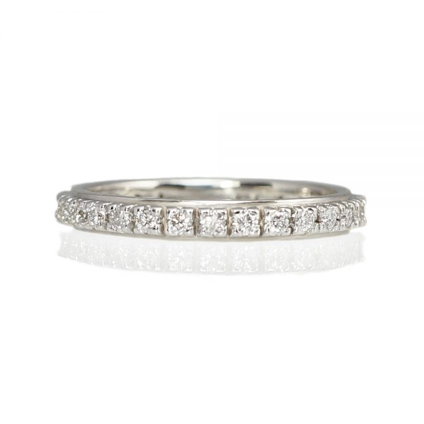 Alison Diamond Eternity wedding ring