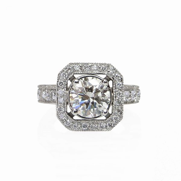 Bianca Engagement Ring by Cynthia Britt Boston MA