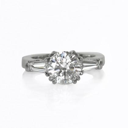 Tara Custom Made Engagement Ring at Cynthia Britt Jewellery