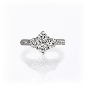 Angela Four Stone Diamond Ring