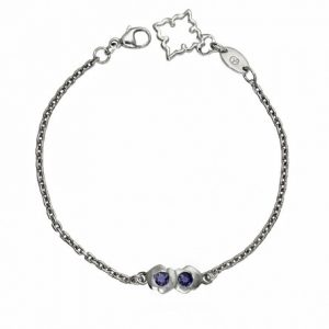 Double Kiss Bracelet by Cynthia Britt in Sterling Silver